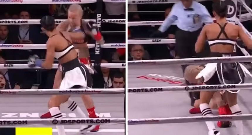 El KO de Serrano entra en la historia del boxeo