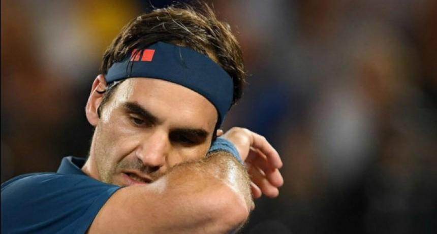 Federer eliminado en octavos de final en Australia