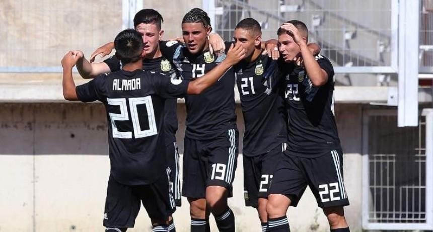 El Sub 20 igualó 1-1 ante Paraguay