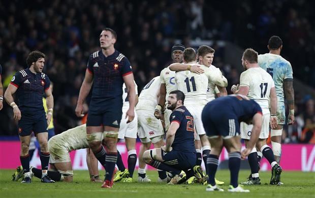 Inglaterra les dio una mano a los Pumas: le ganó a Francia