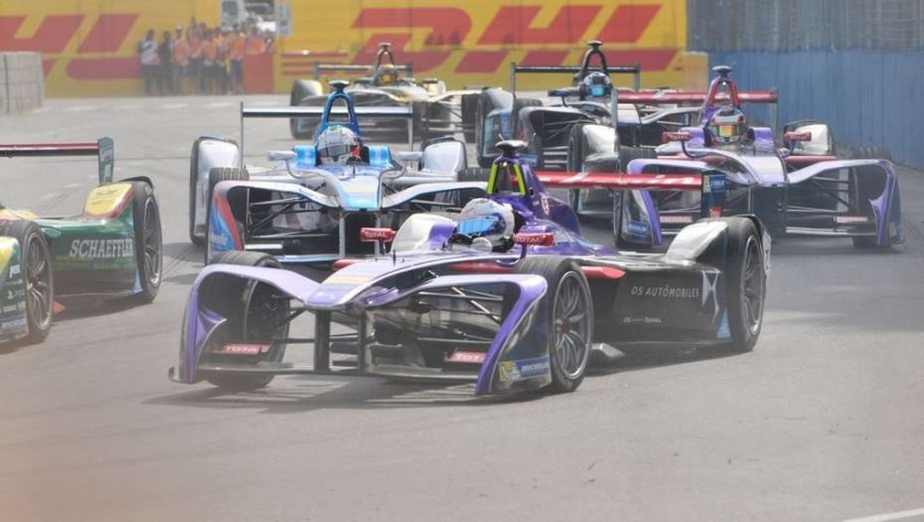 Fórmula E: Pechito López cumplió una gran actuación