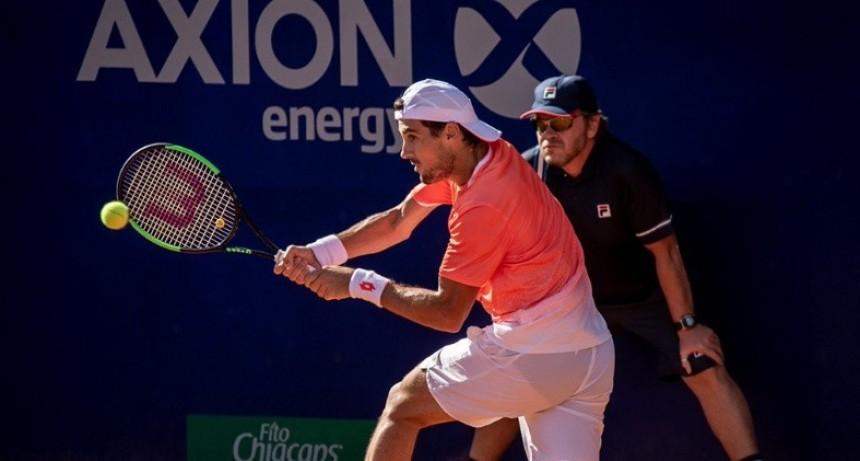 Pella debutó con triunfo en el Argentina Open