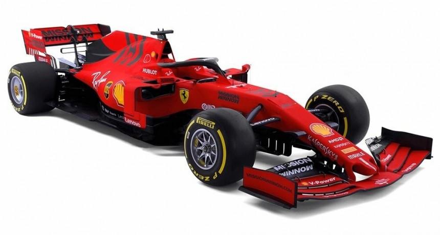 El nuevo Ferrari de Fórmula 1