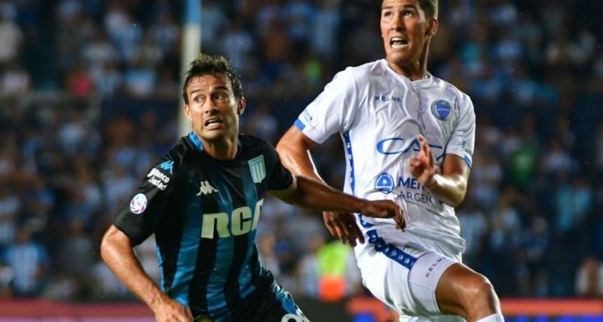 Racing goleó a Godoy Cruz y recuperó el liderazgo en la Superliga