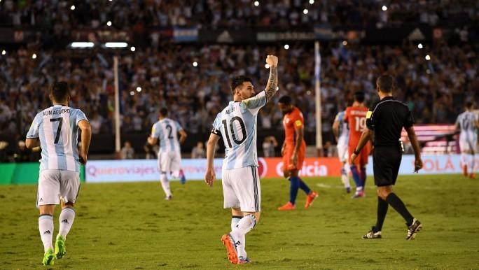 Argentina le ganó a Chile sin convencer
