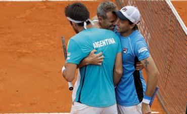 Copa Davis: Argentina ya tiene rival para definir su pemanencia en el Grupo Mundial