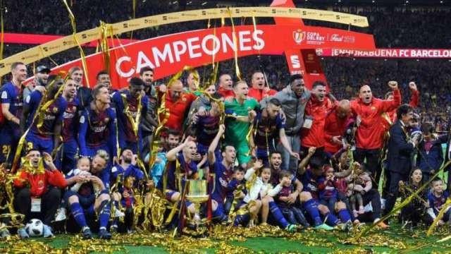 Barcelona dueño Copa del Rey al ganarle al Sevilla