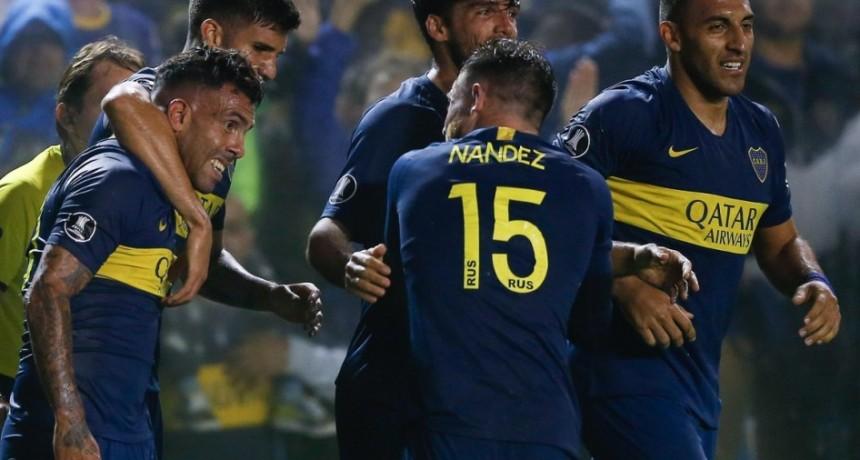 Boca se clasificó primero en el Grupo