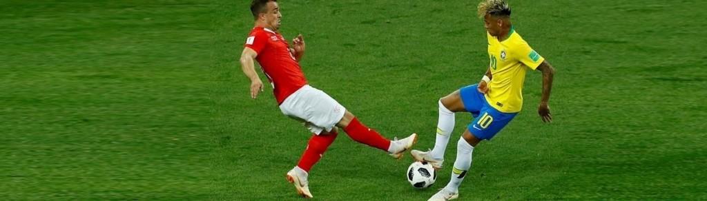 Brasil no pudo con Suiza en su debut en el Mundial