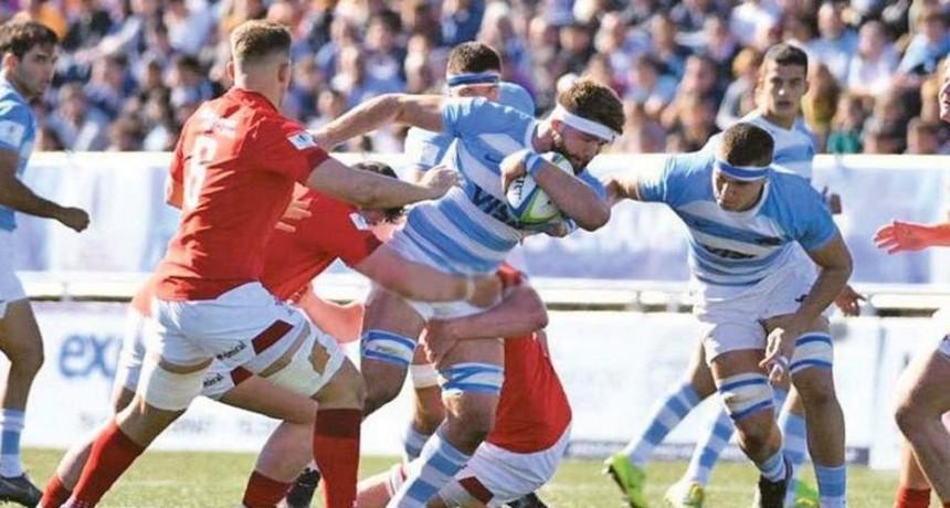 Los Pumitas no pudieron doblegar al fuerte Gales