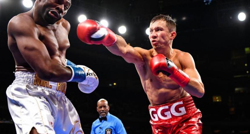Fulminante KO de Gennady Golovkin