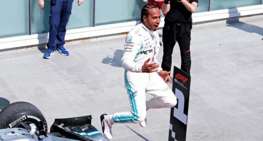 Fórmula 1: Hamilton ganó en Canadá