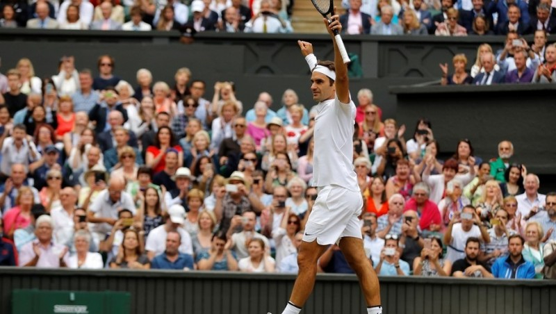Roger Federer está en la final de Wimbledon y busca mejorar sus números dorados
