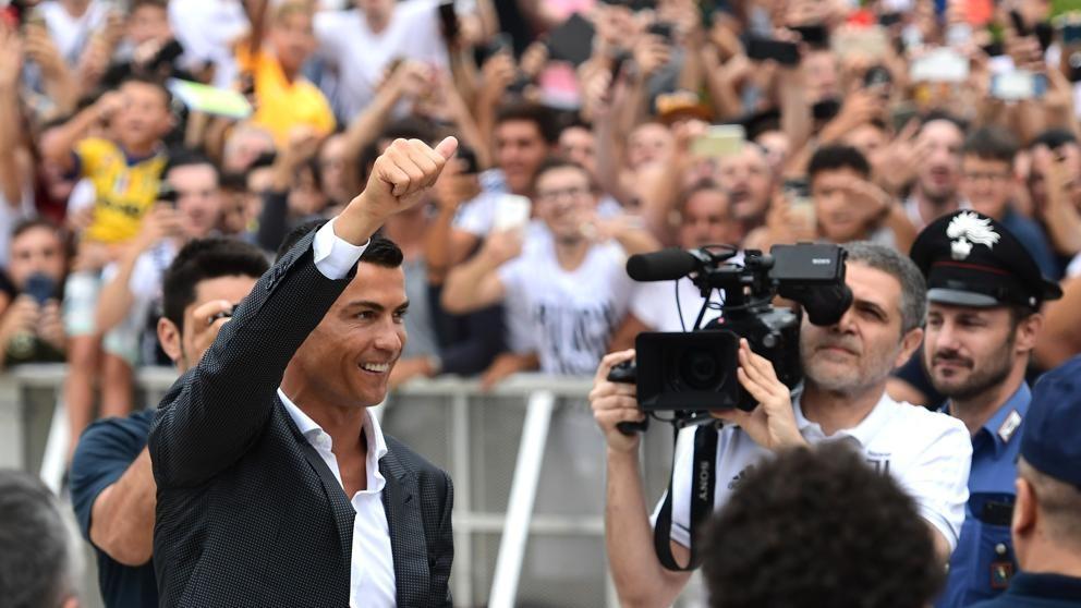 Cristiano Ronaldo es presentado a la Juventus