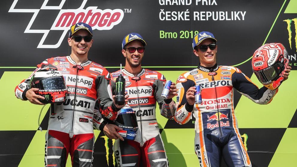 Andrea Dovizioso líder del mundial de MotoGP
