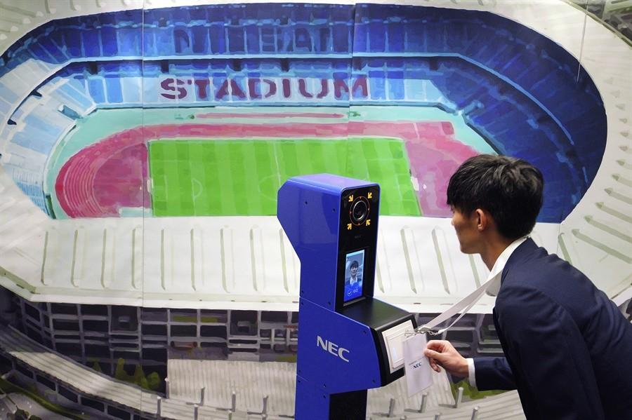 Juegos Olímpicos Tokio 2020:reconocimiento facial