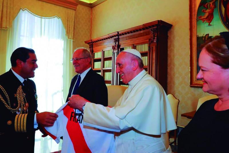 ¡El Papa es peruano!
