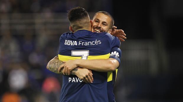 Boca vapuleó a Vélez y sigue puntero