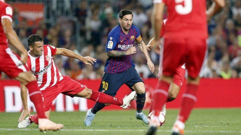 Barcelona empato ante Girona y comparten la cima