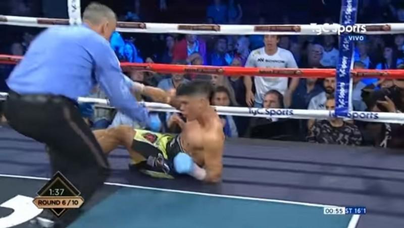 La Joya Barrionuevo metió un KO fulminante y sueña con una chance mundialista