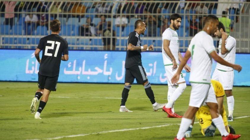 La Selecciòn Argentina goleo a Irak