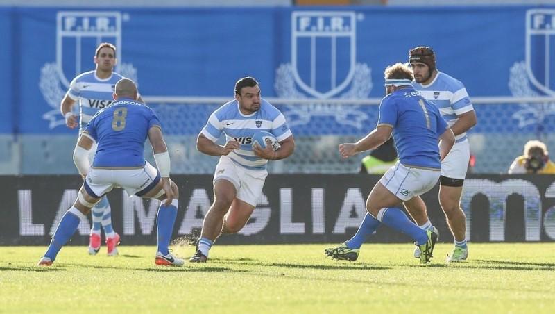 Los Pumas vencieron a Italia en el estadio Artemio Franchi de Florencia