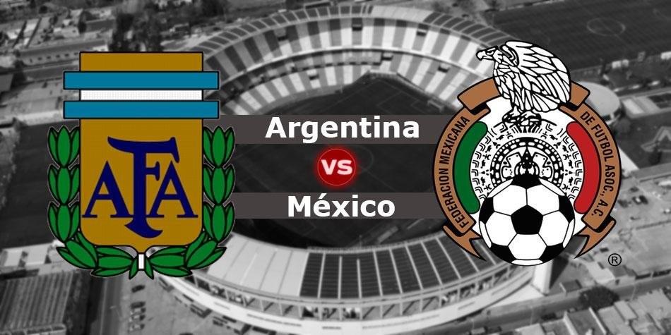 Argentina vs México 1° Amistoso Internacional