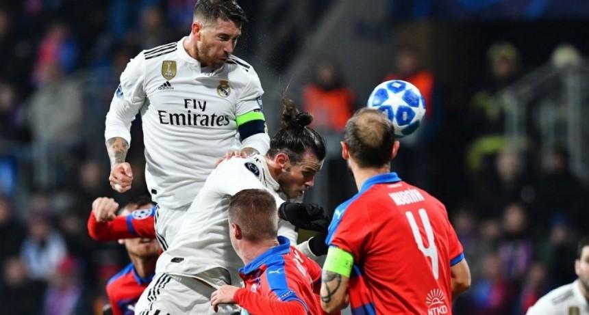 Real Madrid goleó a Viktoria Plzen en el Doosan Arena