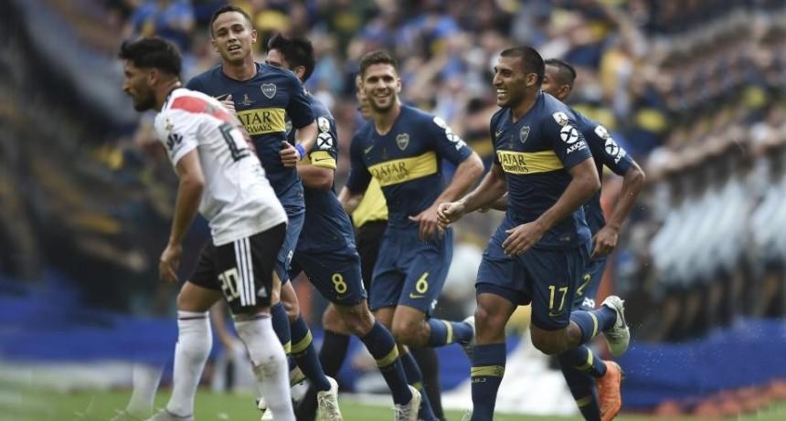 Boca y River empataron 2-2 por la primera final de la Libertadores