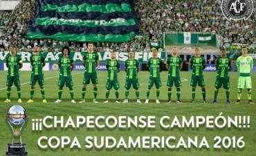 Chapecoense fue declarado campeón de la Sudamericana