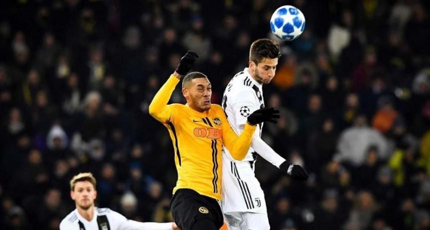 Young Boys le saco ventaja Juventus