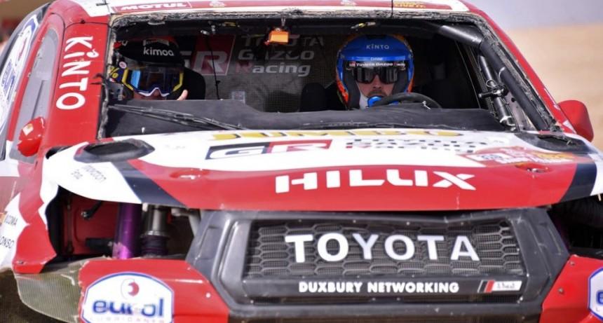 Se dio vuelta alonso en la décima etapa Dakar 2020
