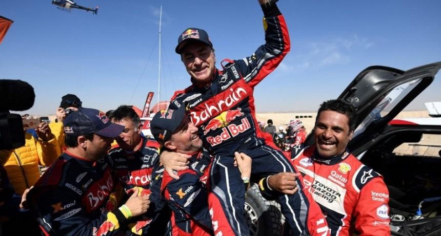 Carlos Sainz ganó el DAKAR 2020