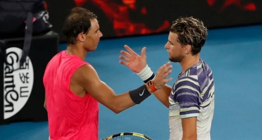 Rafael Nadal eliminado del Abierto de Australia por Dominic Thiem