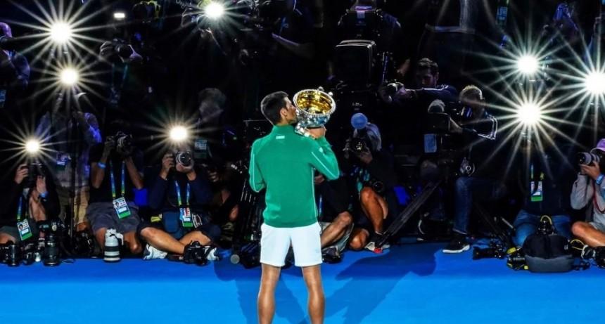 Novak Djokovic ganador del Open de Australia 2020