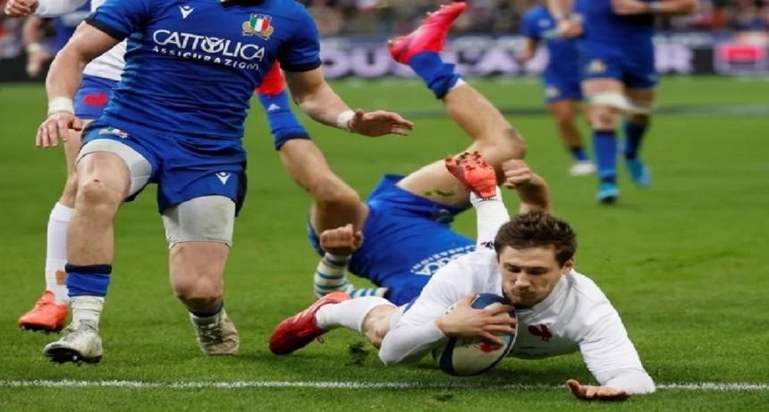 Francia derrotó a Italia y sigue con paso firme en el Seis Naciones