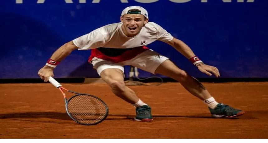 Diego Schwartzman abandonó el Argentino Open