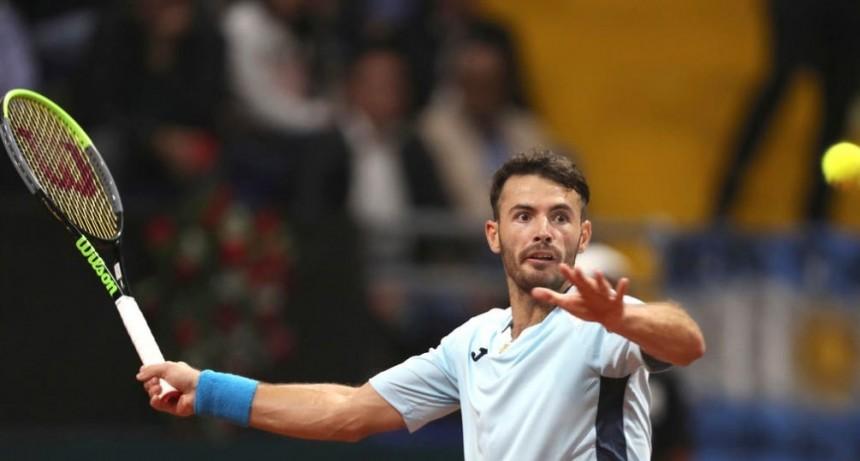 Londero superó a Giraldo y empató la serie de Copa Davis con Colombia en Bogotá