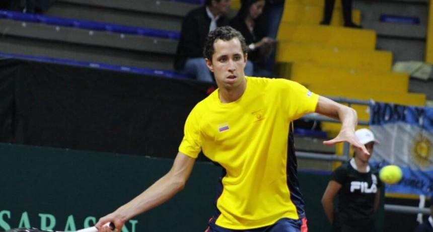 Colombia comenzó con triunfo la serie de Copa Davis ante Argentina