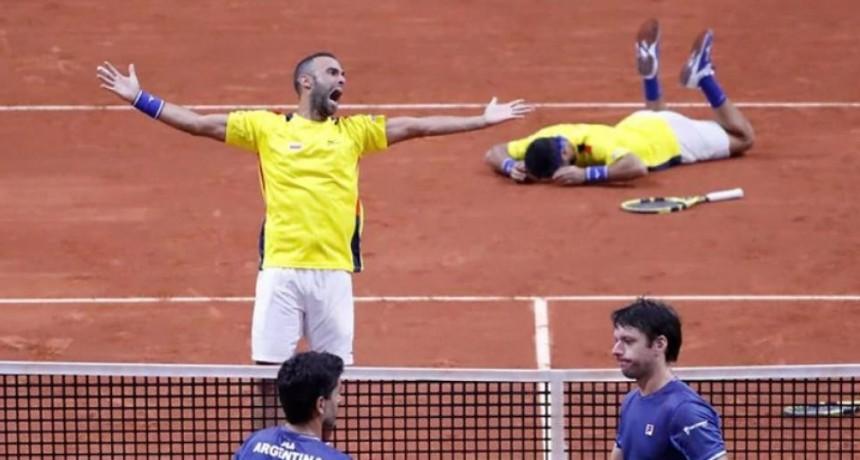 Argentina no accede a las finales de la Copa Davis