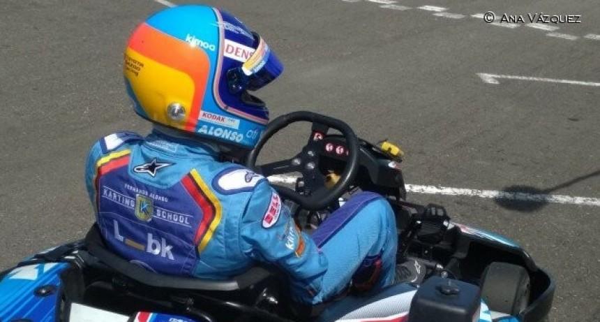 Alonso gana las 6 Horas de Resistencia de su karting