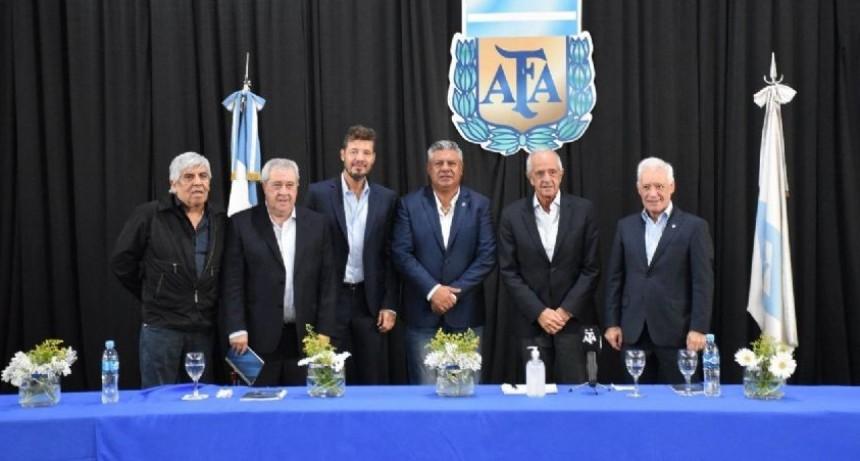 Tapia fue reelecto y nació la Liga Profesional