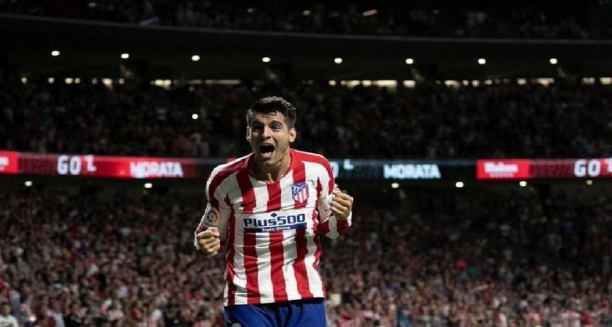 Atlético de Madrid comenzó la Liga ganando al Getafe