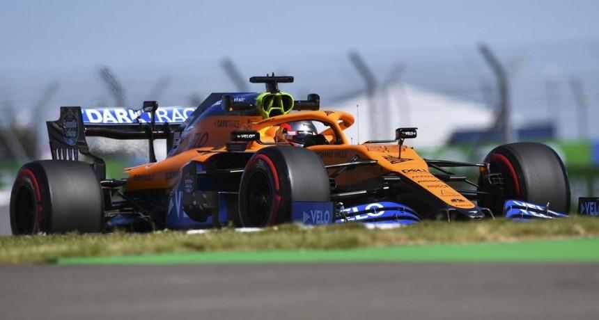 McLaren quiere sorprender 'a la contra' en Silverstone