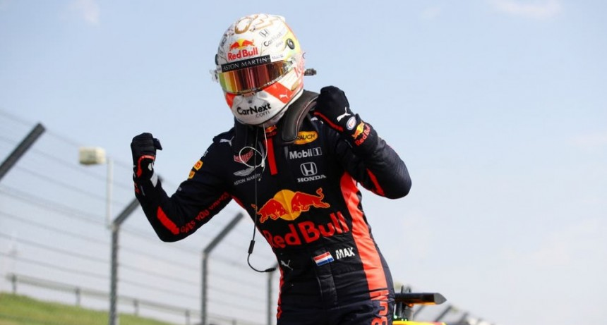 Max Verstappen ganó el Gran Premio 70° Aniversario7