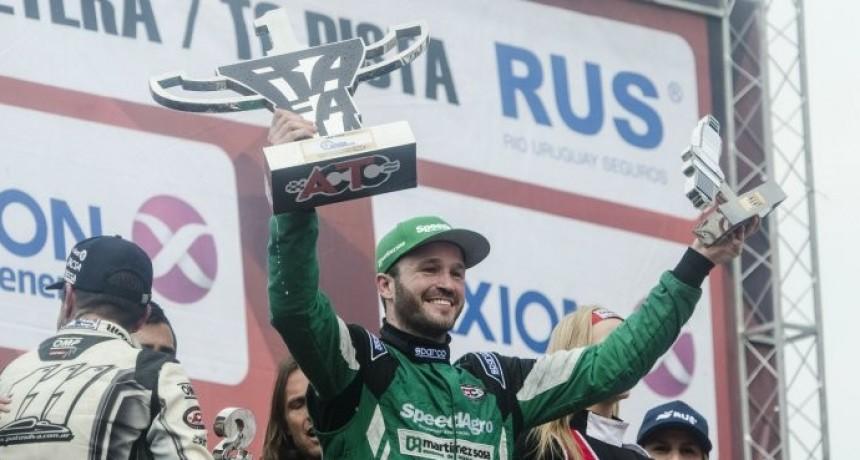 Canapino logró su primera victoria en el TC