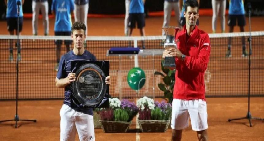 Djokovic se alzo con el trofeo de la final del Masters 1000 de Roma