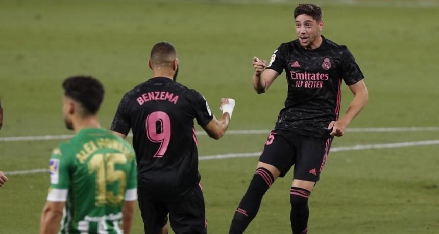El Real Madrid se impuso 3 a 2 ante el Betis