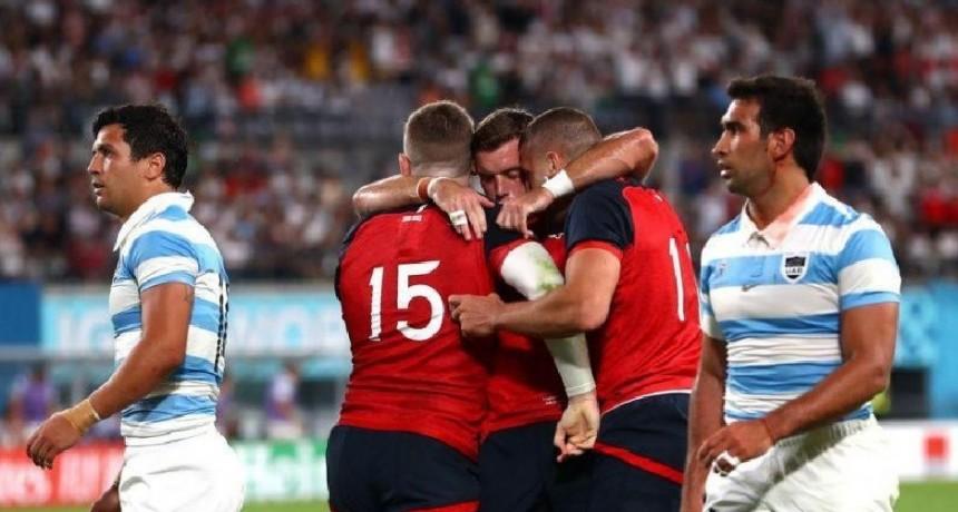 Los Pumas perdieron ante Inglaterra