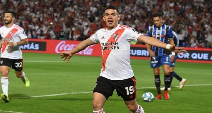 River superó a Almagro y está en las semifinales de la Copa Argentina